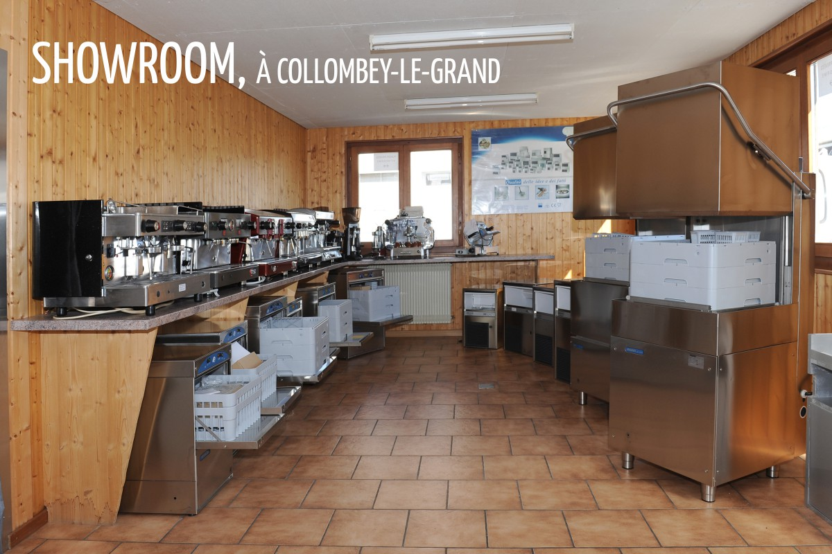 showroom Bifrare à Collombey